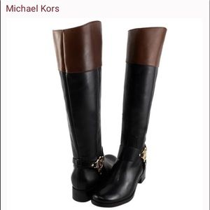 Michael Kors Fulton Riding Boots